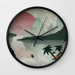 Two Of Seven Wall Clock