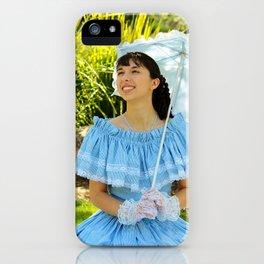 Southern Belle Portrait iPhone Case