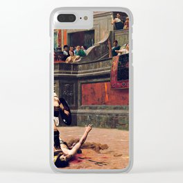Thumbs Down - 1872 Clear iPhone Case