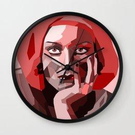 Porcelain Joan Wall Clock