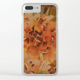 """""""The Hot Energy"""" Ecologic atypic art - 1/3 - by WHITEECO Ecologic design Clear iPhone Case"""