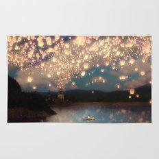 Love Wish Lanterns Rug