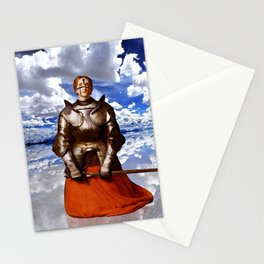 Penitent - Joan of Arc Stationery Cards