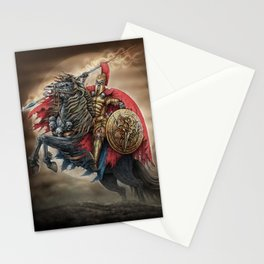 Spartan's army Stationery Cards