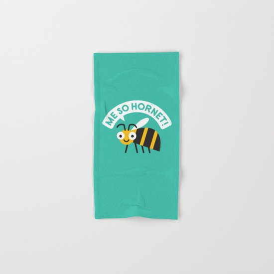 Full Metal Yellow Jacket Hand & Bath Towel