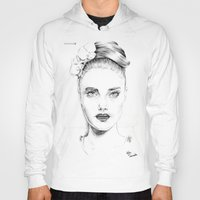 cara delevingne Hoodies featuring Cara Delevingne by Rillwatermist