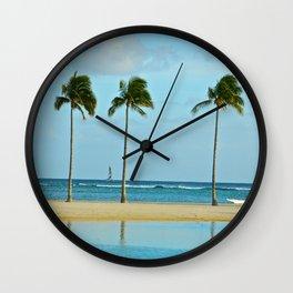 Beach Breeze Wall Clock