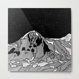 EIGER Metal Print