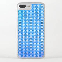 Shells Pattern Clear iPhone Case