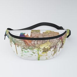 Lubbock, Texas Skyline - Faded Glory Fanny Pack