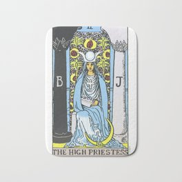 02 - 	The High Priestess Bath Mat