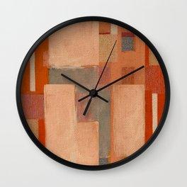 Urban Intersections 5 Wall Clock