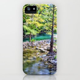Guadalupe River Texas iPhone Case