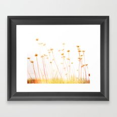 Beach Flora Framed Art Print