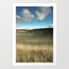 The End of the Harvest Art Print