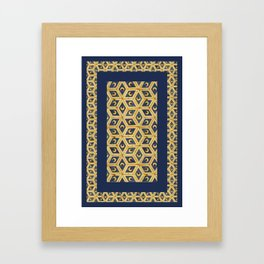 Tile Floor Framed Art Print