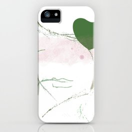 Helo lovely iPhone Case