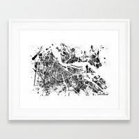 amsterdam Framed Art Prints featuring AMSTERDAM by Nicksman