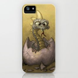 The Baby Dragon iPhone Case