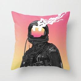 burnt Throw Pillow