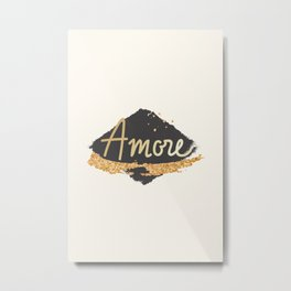 Amore - Valentines Day Gift Idea Metal Print