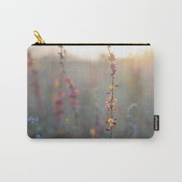 Wildflowers at Sunse Carry-All Pouch