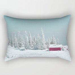 Winter day Rectangular Pillow