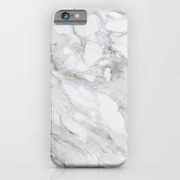 Calacatta Marble iPhone Case
