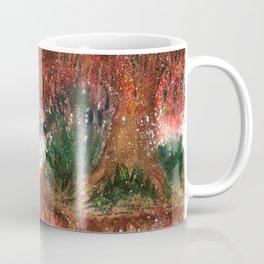 Mystique Landscape Watercolor Coffee Mug