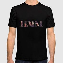 Haim floral logo T-shirt