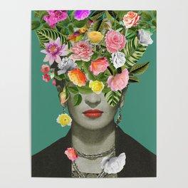 Frida Floral Poster