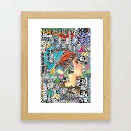 Pop UP - ONE Framed Art Print