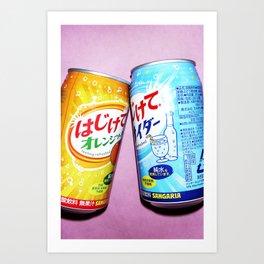 Soda pop art! #1 Art Print