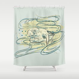 Soul of a Chinese Water Deer Shower Curtain