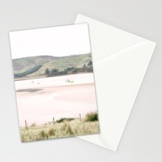 Boats on the water (color) Stationery Cards