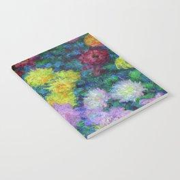 """Claude Monet """"Chrysanthemums"""", 1897 Notebook"""