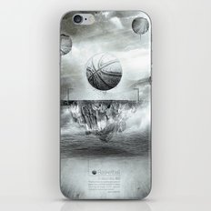 1891 - Basketball iPhone & iPod Skin