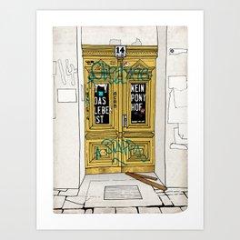 Entrance Door Art Print