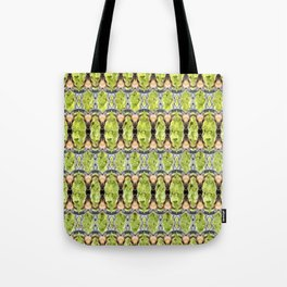 Wild Goat Face 01 Pattern Tote Bag