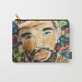 ovo,drizzzy,poster,wall art,dope,toronto,graffiti,street art,fan art,music,gift,rap,hiphop,rapper Carry-All Pouch