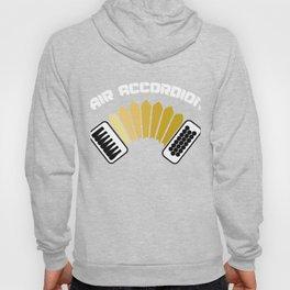 Air Accordion Aerophone Harmonica Wind Instruments Musicians Gift Hoody