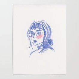 A Geek Girl Poster