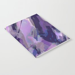 Thunder Plum Abstract Notebook