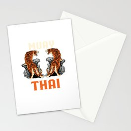 Muay Thai Tigers Stationery Cards