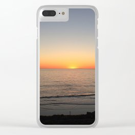 Sunset Cliffs Clear iPhone Case