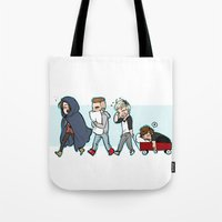 kendrawcandraw Tote Bags featuring Sleepy Time by kendrawcandraw