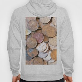 Watercolor Coins, Lincoln Wheat Pennies, 1939 03 Hoody