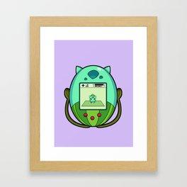 Bulba PokeTama Framed Art Print