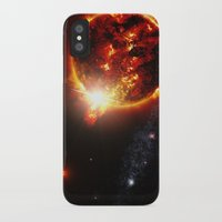 planet iPhone & iPod Cases featuring Galaxy : Red Dwarf Star by 2sweet4words Designs