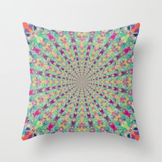 Colour Jackpot Throw Pillow